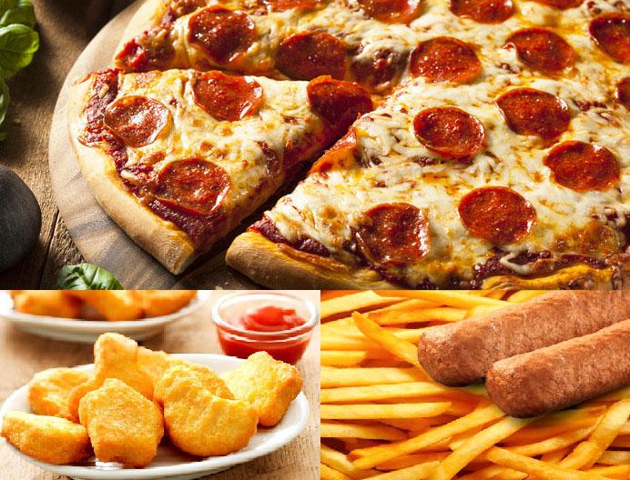 Pizza's en Fingerfood